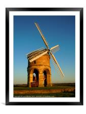 CHESTERTON WINDMILL, Framed Mounted Print