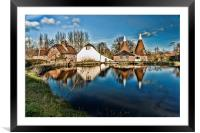 Fairbourne Mill, Framed Mounted Print