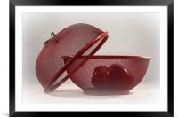 Red Red Apples, Framed Mounted Print