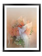 Out of Focus Spring Dreams, Framed Mounted Print