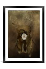 Indigenous, Framed Mounted Print