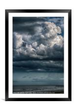 Stormy Weather, Framed Mounted Print