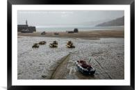 Low Tide at St Ives in Cornwall, Framed Mounted Print