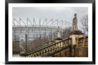Newcastle United Football Ground, Framed Mounted Print
