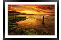 Times like these, Framed Mounted Print