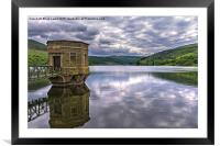 The Beacons From Talybont Dam, Framed Mounted Print