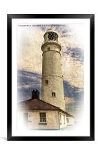 Nash Point East Tower, Framed Mounted Print