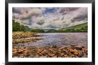 Thirlmere Looking North, Framed Mounted Print