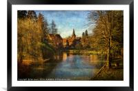 Whitchurch on Thames, Framed Mounted Print