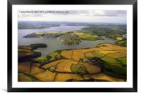 up the Fal, Framed Mounted Print