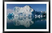 Iceberg, Framed Mounted Print