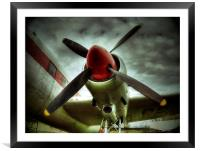 Propeller, Framed Mounted Print