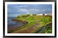 Scarborough Foreshore, Framed Mounted Print