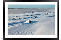 Early Morning on the Tundra Canada, Framed Mounted Print