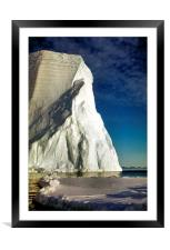 Magnificant Iceberg, Cape Roget, Antarctica, Framed Mounted Print