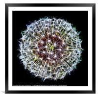 The Big Bang, Framed Mounted Print