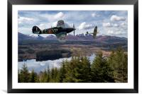 Hurricane and Spitfire, Brothers in arms, Framed Mounted Print