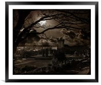 Surreal Feeling In Scarborough., Framed Mounted Print