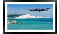 The Lone Lancaster Returns, Framed Mounted Print