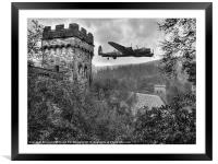 A Tribute To The Dam Busters, Framed Mounted Print
