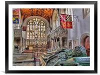 The Fitzalan Chapel - Arundel Castle 2, Framed Mounted Print
