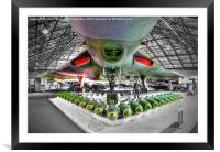 Vulcan and Bombs - R.A.F. Museum Hendon 1, Framed Mounted Print