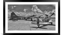 """""""Sally B"""" and Spitfire, Framed Mounted Print"""