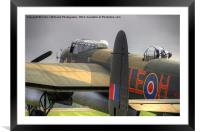 A Moody Just Jane , Framed Mounted Print