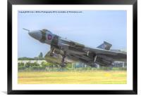 Vulcan Takes to the Sky - Farnborough 2014, Framed Mounted Print