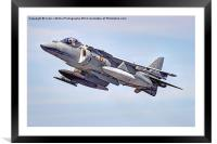 Spanish AV-8B II Harrier 1, Framed Mounted Print