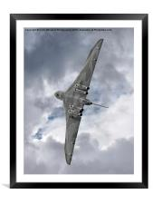 Pulling G - Vulcan - Valedation Display , Framed Mounted Print