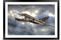 Spitfire and Typhoon Battle of Britain 2, Framed Mounted Print