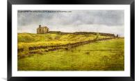 Passing through the Hamlet of Whittaker, Framed Mounted Print