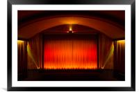Bowness on Windermere cinema , Framed Mounted Print