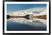 Kintail Reflection, Framed Mounted Print