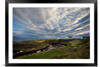 Seaton Sluice Harbour, Northumberland, Framed Mounted Print