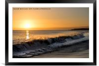 First dawn of a New Year, Framed Mounted Print