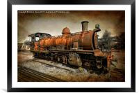 End of the Line, Framed Mounted Print