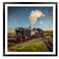 Garratt No. 87 Loco, Framed Mounted Print