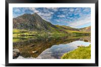 Mountain Reflection, Framed Mounted Print
