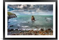 Rhoscolyn Coastline Anglesey, Framed Mounted Print