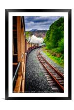 Welsh Highland Railway, Framed Mounted Print