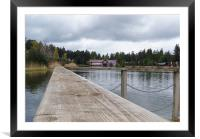 centre parcs penrith, Framed Mounted Print