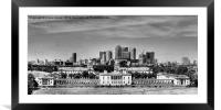 Greenwich, Framed Mounted Print