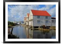 High Tide Tollesbury, Framed Mounted Print