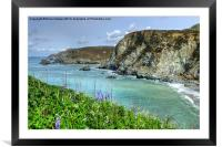 St Agnes Cornwall, Framed Mounted Print