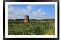 Walberswick Mill, Framed Mounted Print