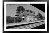 Manningtree Station, Framed Mounted Print