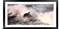 Come Play With Me, Framed Mounted Print