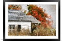 Once Upon a Time, Framed Mounted Print